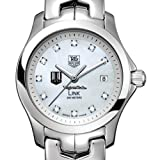 TAG HEUER watch:Virginia Tech TAG Heuer Watch - Women's Link with Mother of Pearl Diamond Dial at M.LaHart