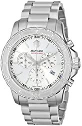 Movado Men's 2600111 Series 800 Performance Stainless Steel Bracelet Watch