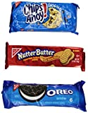 Nabisco Cookie Variety Packs (Chips Ahoy!/Nutter Butter/Oreo), 21.2 oz
