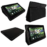 513FqVPghyL. SL160  iGadgitz Black Genuine Leather Case Cover for Blackberry Playbook Internet Tablet + Screen Protector