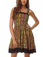 Almatrichi Vestido Megan (Multicolor)