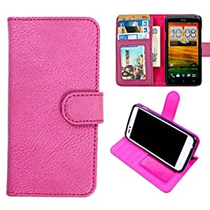 DooDa PU Leather Wallet Flip Case Cover With Card & ID Slots & Magnetic Closure For Nokia Lumia 720