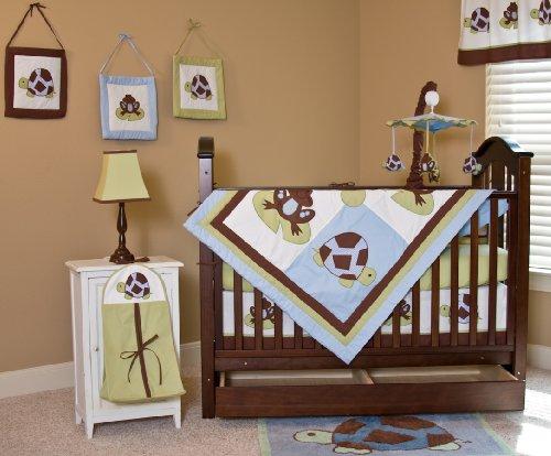 Nursery-To-Go Mr. and Mrs. Pond 10 Piece Bedding Set