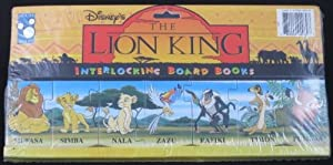 Disney's the Lion King (Interlocking Board Books) by Mouse Works