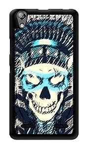 "Humor Gang Pirate Skull Printed Designer Mobile Back Cover For ""Lenovo A6000"" (3D, Glossy, Premium Quality Snap On Case)"