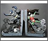 DC Direct 1997 Batman & Robin Cold Cast Porcelain Statue Bookends
