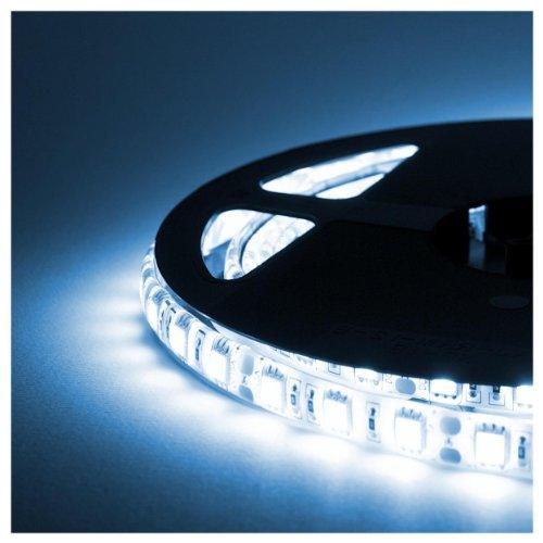 Striscia LED - 5 Metri - 72W - SMD5050 BIANCO FREDDO - 300 LED