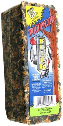 Cheap C & S Products Woodpecker Brick, 8-Piece (CS08287)