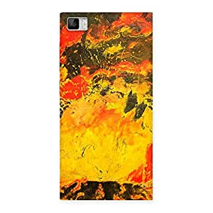 Modern Art Paint Designer Back Case Cover for Xiaomi Mi3