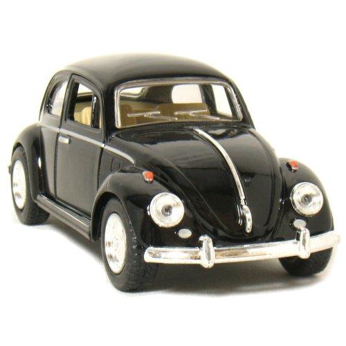 "5"" 1967 Volkswagen Classic Beetle 1:32 Scale (Black) by Kinsmart - 1"