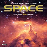 Orange Circle Studio 2014 Wall Calendar, A Voyage Through SPACE (51110)
