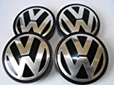 VW Wheel Center Caps 65mm Passat Golf Polo Bora Jetta 4x