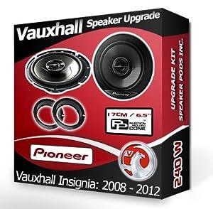Vauxhall Insignia Front Door speakers Mac Audio car:.uk