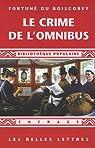 Le crime de l'omnibus par Du Boisgobey