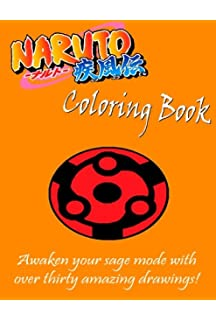 FREE Naruto Coloring Book Awaken Your Sage Mode With Over