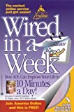 img - for AOL: Wired in a Week with CDROM by Regina Lewis (2000-11-05) book / textbook / text book