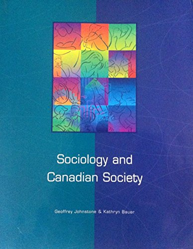 Sociology and Canadian society