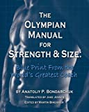 img - for Olympian Manual for Strength and Size book / textbook / text book