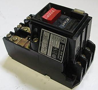 Square D 2510mbg2 Manual Motor Starter 18a 600vac