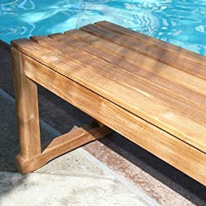 Pool side seating, Outdoor Entertaining, Teak Bench, Outdoor Decor Tips