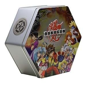 Bakugan BakuTin Grey  -  Marbles will vary