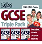 Letts GCSE 2002-2003 Exams Triple Pac...