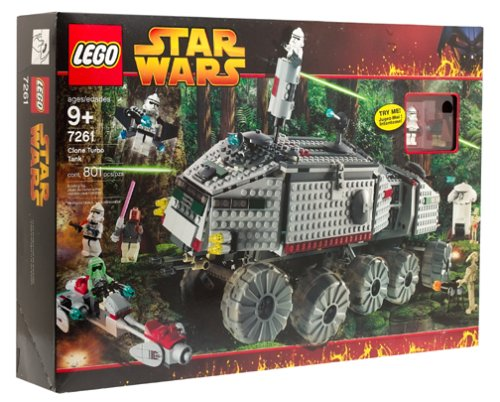 Star Wars Lego Episode III Clone Turbo Tank #7261