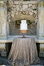 SILVER SEQUIN TABLECLOTH, Select Your Size, Silver Wedding Tablecloth, Silver Glitter Tablecloth, Silver Sparkly Tablecloth,