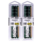 4GB kit (2GBx2) DDR2 PC2-4200 DESKTOP Memory Modules (240-pin DIMM, 533MHz) Genuine A-Tech Brand