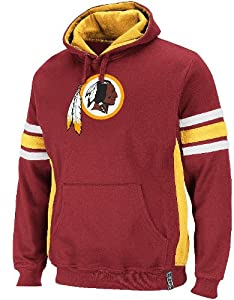 Washington Redskins Passing Game II Fleece Hooded Sweatshirt by VF by VF