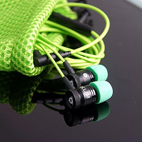 Auricolari KLIM Fusion per audio di alta qualità - Lunga durata + Garanzia 5 anni - Innovativi: con cuscinetti in schiuma Memory