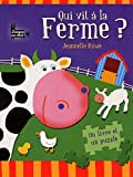 echange, troc Jeannette Rowe - Qui vit à la ferme ? : Un livre et un puzzle
