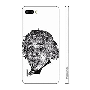 Enthopia Designer Hardshell Case Einstein to you Back Cover for Huawei Honor 6 Plus