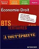echange, troc Dominique Lemoine, Hélène Thomas - Economie-Droit BTS tertiaires (Ancienne Edition)