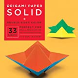 Origami-Paper-Solid-6-3-4-33-Sheets
