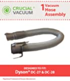 Dyson DC27 & DC28 Hose Assembly, Fits Dyson DC27, DC27 HSN Exclusive, DC27 Sam's Club Exclusive & DC28 Models, Compare to Part # 916547-01, Designed & Engineered by Crucial Vacuum