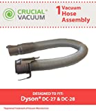 Dyson DC27 & DC28 Hose Assembly; Fits Dyson DC27, DC27 HSN Exclusive, DC27 Sam's Club Exclusive & DC28 Models; Compare to Part # 916547-01; Designed & Engineered by Crucial Vacuum