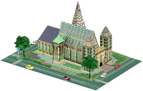 Cheap ida 3d Wooden Model Puzzle – St. Stephen Cathedral, Italy (B001900UFK)