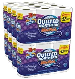 Quilted Northern Ultra Plush, Double Rolls, 36 Count [Item #44184]