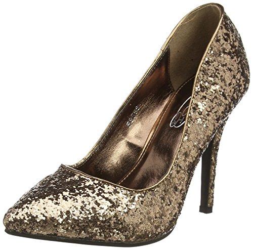 Spot OnF9666 - Scarpe con Tacco donna , Marrone (Marrone (Bronze)), 38