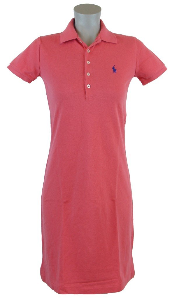 Popular  New With Tags POLO Ralph Lauren Womens SHORT SLEEVE Dress Shirt ORANGE