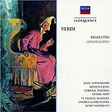echange, troc Verdi, Sutherland, Scao, Sanzogno - Verdi: Rigoletto