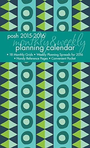 Posh Geo Tribe 20152016 Monthlyweekly Pl