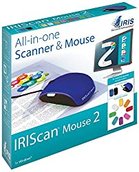 IRIScan 458124 Mouse 2 All-in-one Portable Scanning Mouse