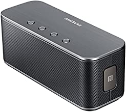 Samsung Original Level Box Bluetooth Lautsprecher Kompatibel mit iPhone, iPad, iPod, Smartphone, Tablet, MP3 Player - Schwarz