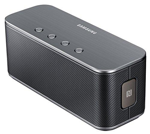 Samsung Original Level Box Bluetooth Lautsprecher Kompatibel mit iPhone, iPad, iPod, Smartphone, Tablet, MP3 Player - Schwarz