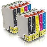 ms-point® 10 kompatible Druckerpatronen für Epson Workforce WF-2010W WF-2010 WF-2510FW WF-2510 WF-2520NF WF-2520 WF-2530WF WF-2530 WF-2540WF WF-2540