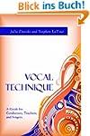Vocal Technique: A Guide for Conducto...