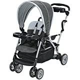 Graco Room for 2 Classic Connect and Click Connect Stand and Ride Stroller, Glacier
