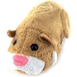 Giochi Preziosi - 2800 - Zhu Zhu Pets - Peluche Interactive - Hamster Marron - Mr. Squiggles